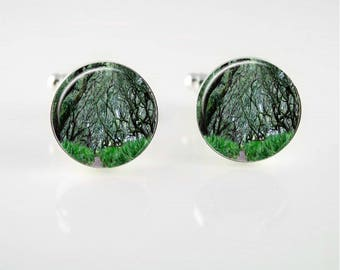 Enchanted Forest Cuff Links