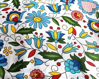 Fabric coupon colorful 50 x 70 cm