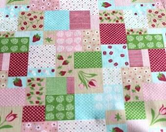 Fabric coupon 50 x 70 cm patchwork