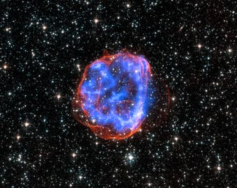 Expanding shell of debris called SNR 0519-69.0, Space Image