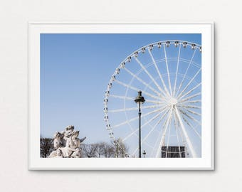 Paris Photography, Tuileries Gardens, Paris Print Shop, Paris Decor, Home Decor, Paris Print, Paris Bedroom Decor, Paris Wall Art