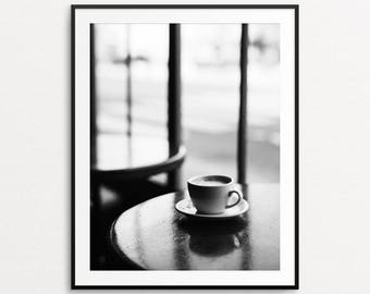 Paris Photography, Paris Cafe Print, Paris Print, Paris Decor, Paris Wall Art, Paris Kitchen Decor