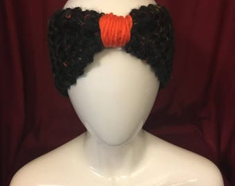 Headband with a touch of Orange