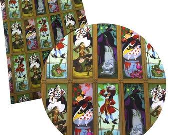 villains vitral fabric