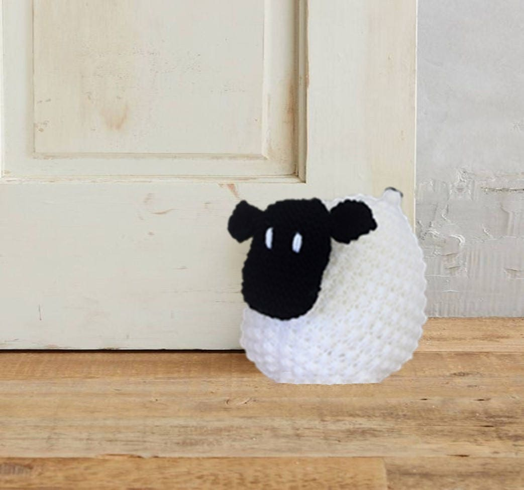 Doorstop knitting pattern sheep knitting pattern sheep doorstop instant digital download bankloansurffo Gallery