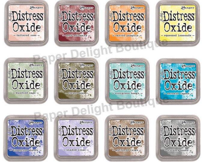 IN STOCK! Release #3 - Tim Holtz Distress Oxide Ink Pads - All 12 NEW 2018 Colors