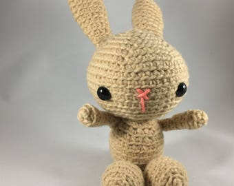 Handmade crochet bunny rabbit, ages 3+
