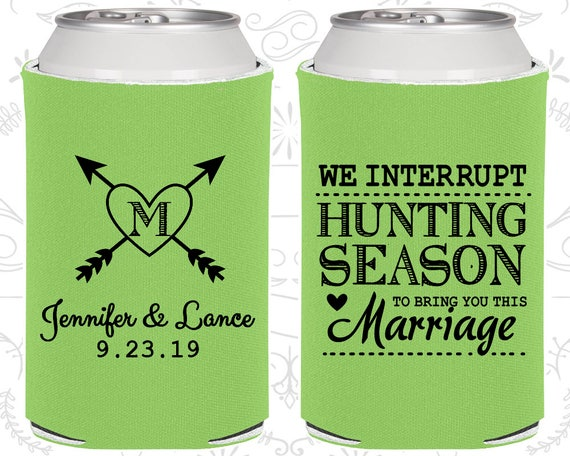 We Interrupt Hunting Season To Bring You This Marriage Wedding