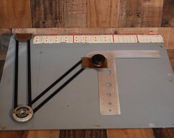 vintage drafting table portable replogle drafting table portable drawing table drafting tools