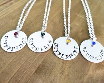 Harry Potter House Necklace