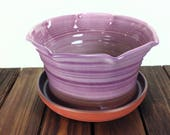 PLANTER Purple Ceramic pl...