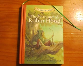 Diary/Sketchbook/Notebook made from The Adventures of Robin Hood book by Howard Pyle****It's a Hidden in Plain Sight Journal****