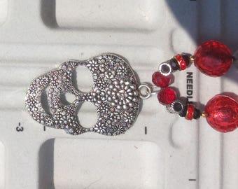Day of the Dead Dia de Los Muertas Necklace