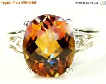 On Sale, 30% Off, Twilight Fire Topaz, Sterling Silver Ring SR139