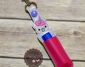 Lip Balm, Chapstick, Flash Drive, USB Drive Holder - Unicorn