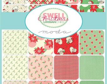 PRESALE- Swell Christmas Yard Bundle By Urban Chiks for Moda Fabrics, SKU# 31126Y