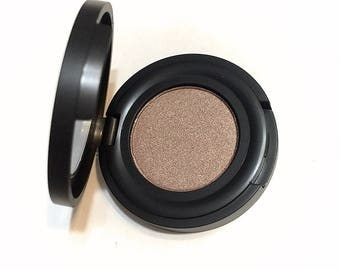 ORGANIC MOCHA Pressed Mineral Eyeshadow - Taupe Brown Eye Color Natural Eye Shadow - Plant Makeup - Organic Gluten Free Vegan Mineral Makeup