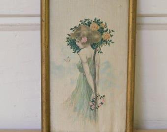 Art Nouveau Painting, Art Nouveau Woman