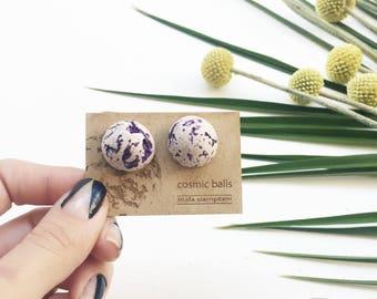 cosmic ball earrings #4