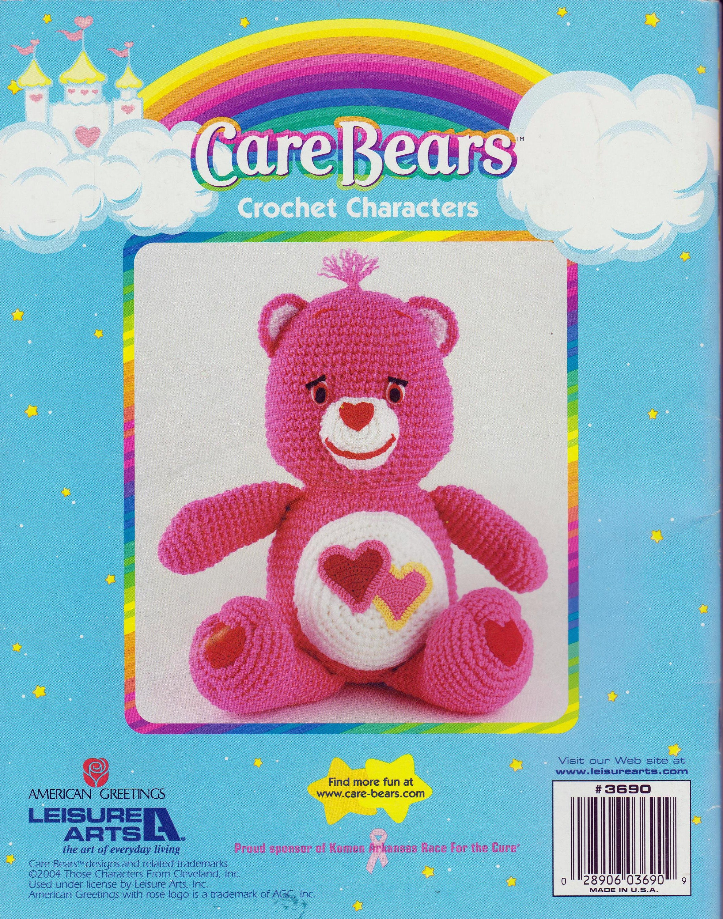 Care bears crochet characters craft patterns instruction book 10 sold by thecollectivemind bankloansurffo Choice Image