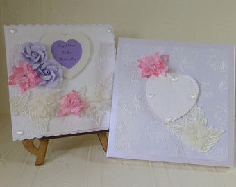 Wedding Day Card- Boxed large Card