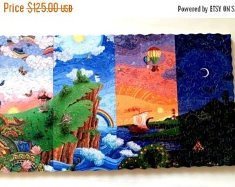 GET NOW Wooden Jigsaw Puzzle 24 HOURS Custom puzzle Handcrafted Wooden puzzle Name Puzzle Vintage Colorful Brain teaser Jigsaw puzzle Hand c