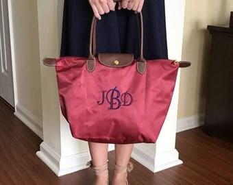 Nylon Bridesmaid Tote Bags  - Personalized - Bridesmaid Tote Bags - Fun Colors