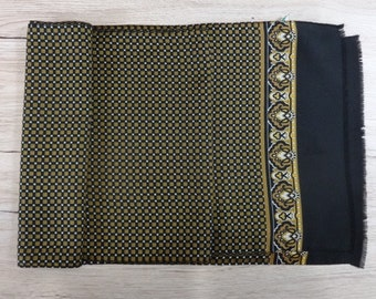 "Vintage Hipster Mens scarf 153cm x 28cm / 60.2"" x 11"""