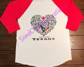Houston Texans Raglan shirt
