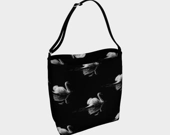 tote bag, Black Swan