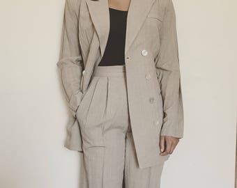 Vintage Pin Stripe Suit