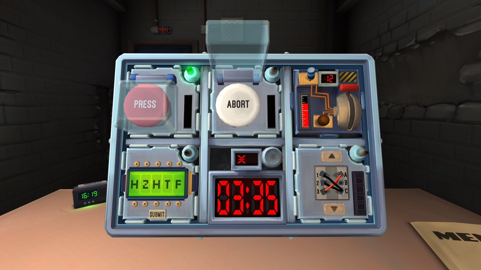 Keep Talking and Nobody Explodes | Picture from Keep Talking and Nobody Explodes Site