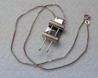 Kaleval Koru (Finland). Pendant. Silver. Vintage.