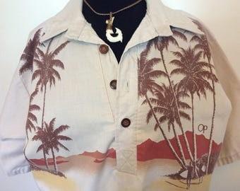 Vintage OP Ocean Pacific Shirt - L