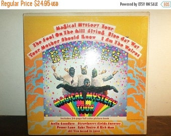 Save 30% Today Vintage 1971 LP Record The Beatles Magical Mystery Tour Stereo Excellent Condition w/Booklet 10316