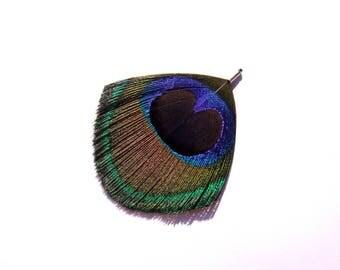 1 charm or pendant 68 mm high-cut Peacock eye