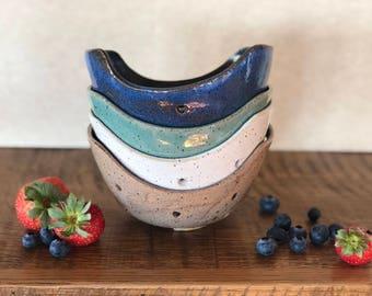 Handmade Morning Berry Bowls