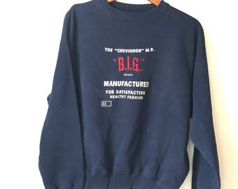 20% OFF * Vintage Chevignon /crewneck-90's sweatshirt