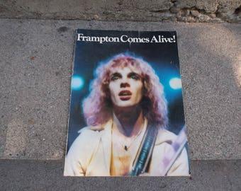 Vintage 1976 Peter Framton Framton Comes Alive Song Book