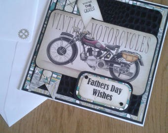 Father's day  vintage style card