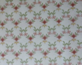 Anniversary Sale Graceful Moments~Little Lattice~Cotton Fabric, Quilt, Home Decor~Maywood Studio~F506~Fast Shipping
