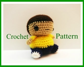 Crochet Pattern for Chibi Morty From Rick and Morty ~PATTERN~