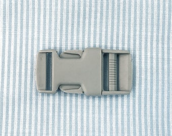 Buckle 30 mm grey