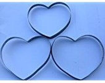 3 Wine Barrel Ring Hearts