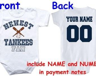 Yankees onesie