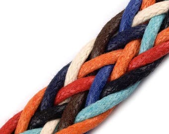 Multicolor 18 mm rope strap