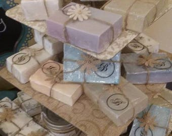 Black Currant Lavender Sandalwood Goatsmilk Soap