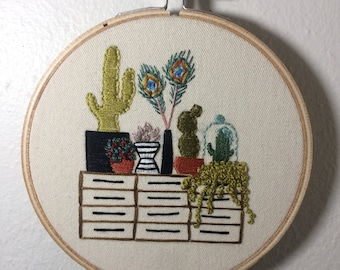 Plant Love Hand Embroidery