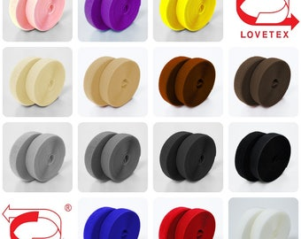 2 inch (50mm) Colorful Sew on Velcro Hook and Loop Fastener Tape