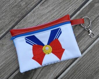 Moon Sailor Scout Zipper Pouch